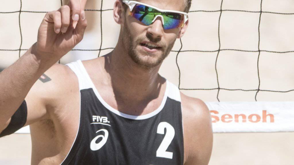 Marco Krattiger behält trotz der Verletzung seine positiven Gedanken