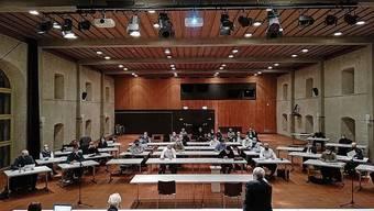 Die Gemeinderatssitzung fand im Landhaus statt.