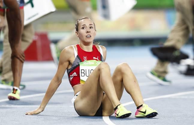 Selina Büchel nach dem Halbfinale über 800 m in Rio