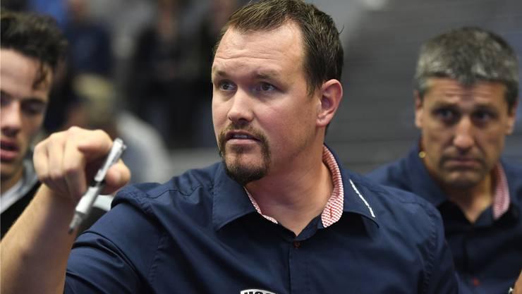HSC-Trainer Misha Kaufmann geht selbst bewusst in die Playoff-Viertelfinals.