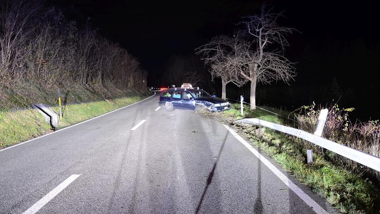 In Waldenburg verunfallte ein betrunkener Fahrer.