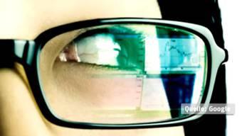 Sieht so die Google Brille aus?