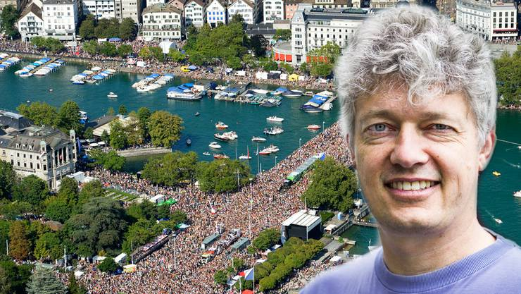 Street Parade-Gründer Marek Krynski