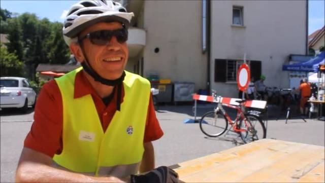 Interview mit Christoph Cina, der am slowUp Solothurn-Buechibärg einen hausärztlichen Notfalldienst eingerichtet hat
