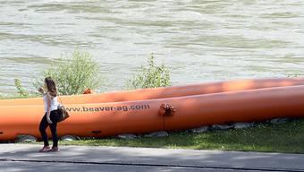 Die Schutzmassnahmen an der Aare in Brugg AG müssen bleiben
