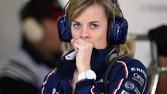 Susie Wolff ist 2015 offizielle Testfahrerin bei Williams-Mercedes.