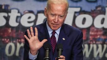 Für ihn lief das erste TV-Duell der US-demokratischen Präsidentschaftsanwärter nicht rund: der frühere US-Vizepräsident Joe Biden. (Archivbild)