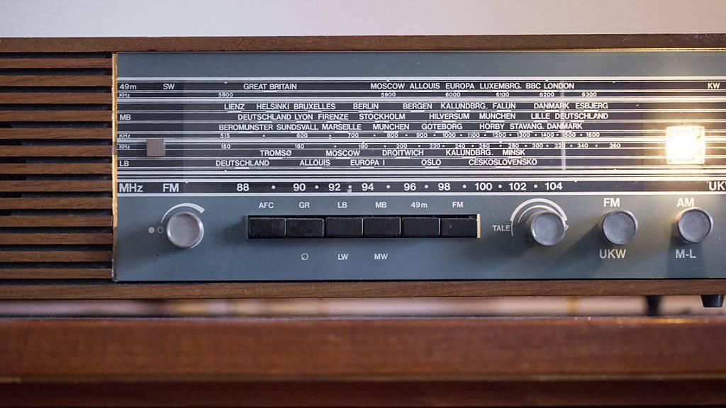 Hat als Empfänger bald ausgedient: Das analoge Radiogerät. (Archiv)