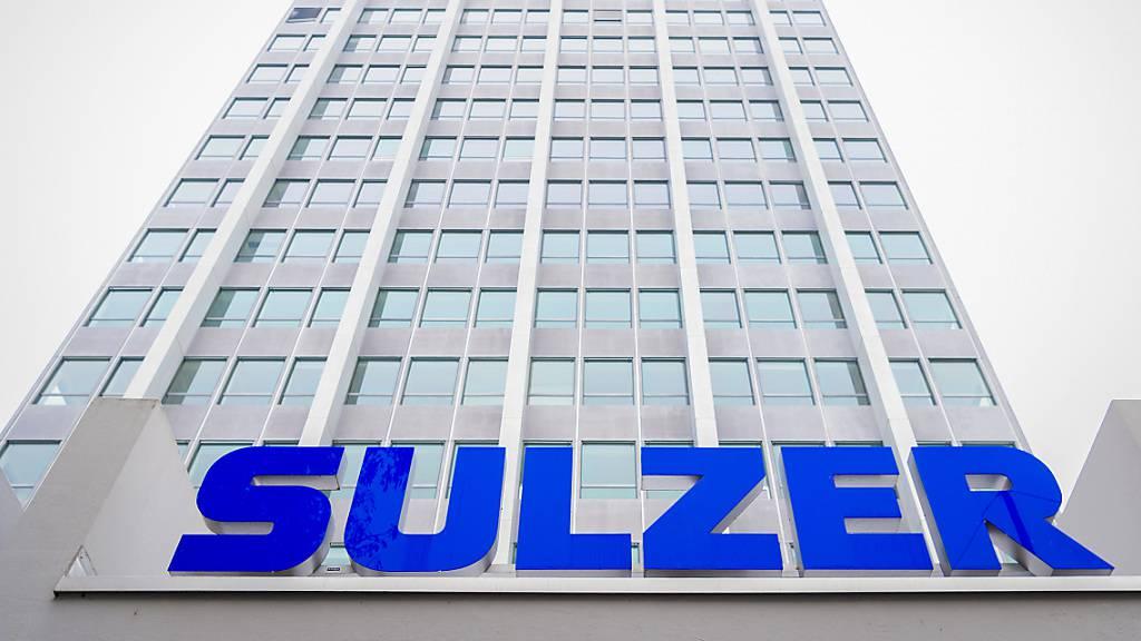 Sulzer steigert Umsatz und Gewinn zweistellig