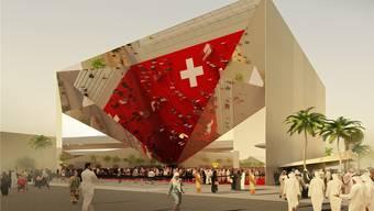 An der nächsten Weltausstellung erstellt die Schweiz einen riesigen Spiegel: Das Publikum soll Teil des Kunstwerks werden.