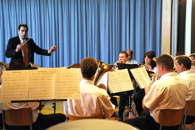 Keine Musik beim Musikverein Niederdorf...