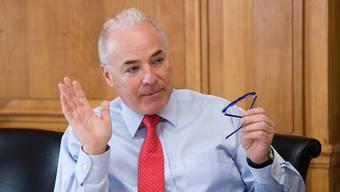 Uhrenpatron Ronnie Bernheim kann im Kampf gegen die Swissness-Vorlage auf Support des Gewerbeverbandes zählen.