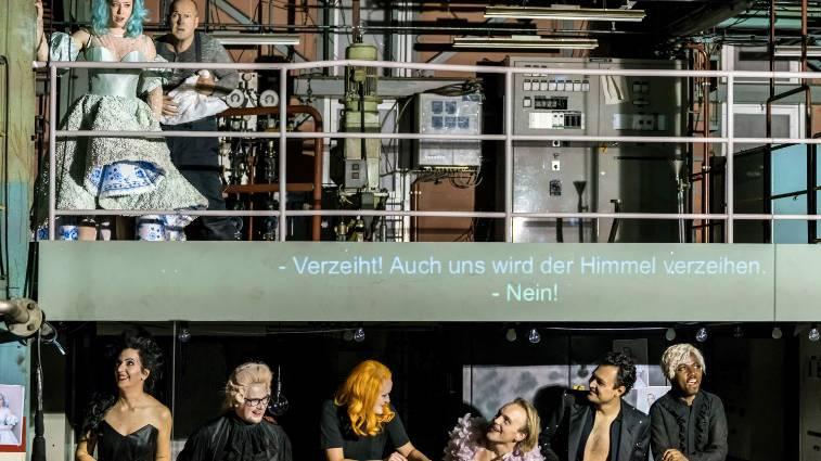 Opernkrimi «Rigoletto» in einer alten Industrie-Halle - noch bis 2. Dezember