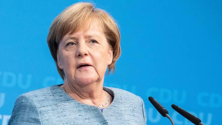 """""""In aller Schärfe"""": Die deutsche Kanzlerin Angela Merkel über die Tötung von Jamal Khashoggi."""