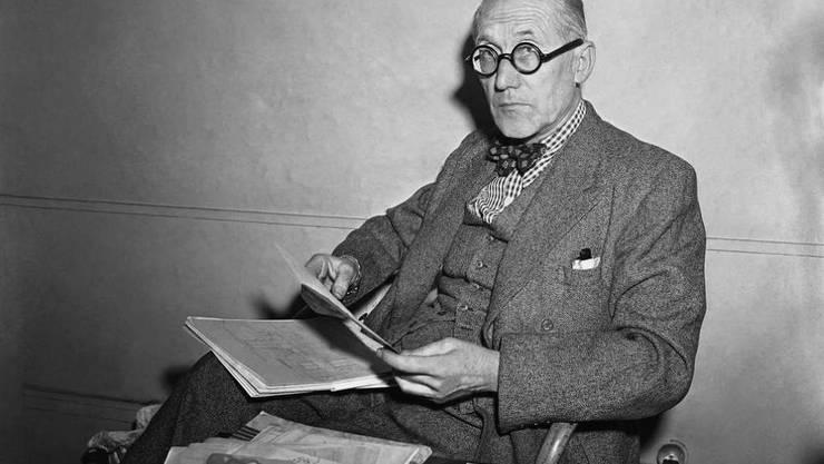 Heute vor 50 Jahren starb Le Corbusier - ein genialer Architekt mit einem ausgesprochen schlechten Urteilsvermögen, was Ideologien betrifft (Archiv).