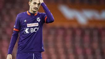 Aldin Turkes verletzte sich im letzten Spiel des Jahres schwer und fällt für den Rest der Saison aus