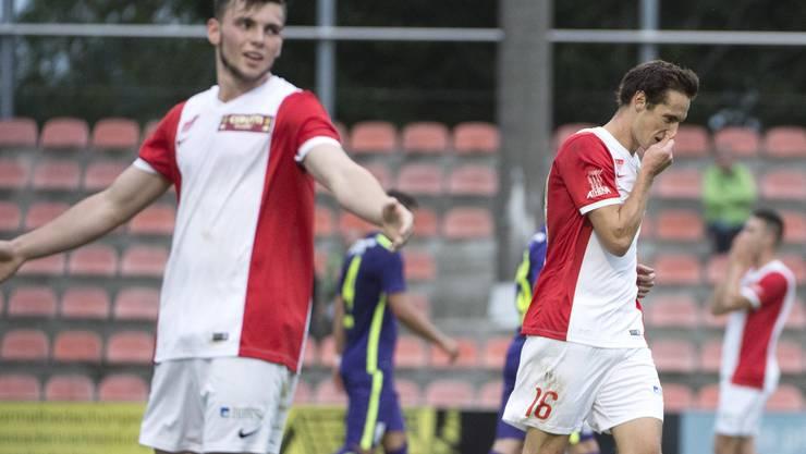 Gibt es heute für den FC Solothurn eine Enttäuschung oder können sie einen Sieg feiern?
