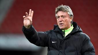 Marco Schällibaum bleibt beim FC Aarau.