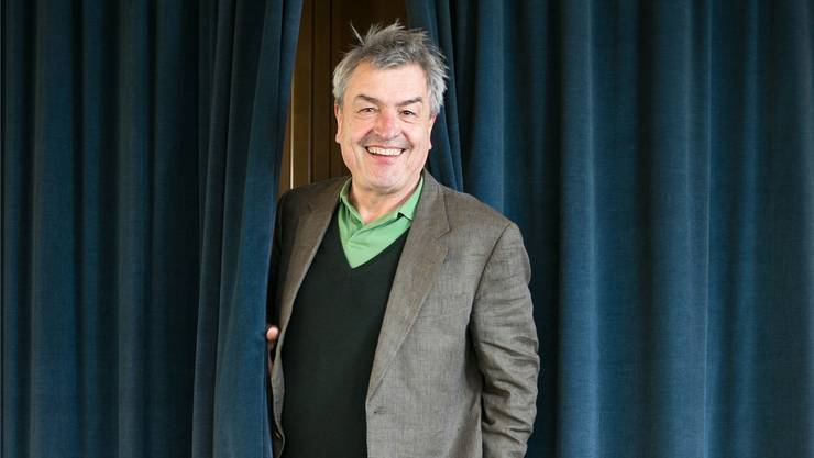 Walter Küng ist Mitglied des Kuratoriums und koordiniert das Gemeinschaftsprojekt Oxer zwischen der Stadt Aarau und dem Kanton.