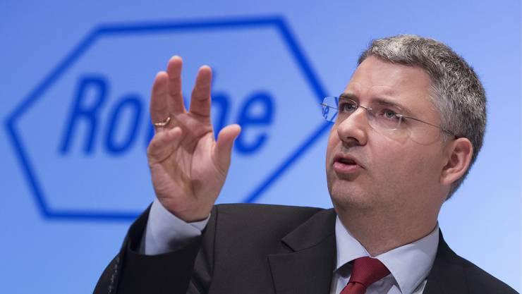 Roche-CEO Severin Schwan kommt bei Übernahmeversuch nicht ans Ziel.