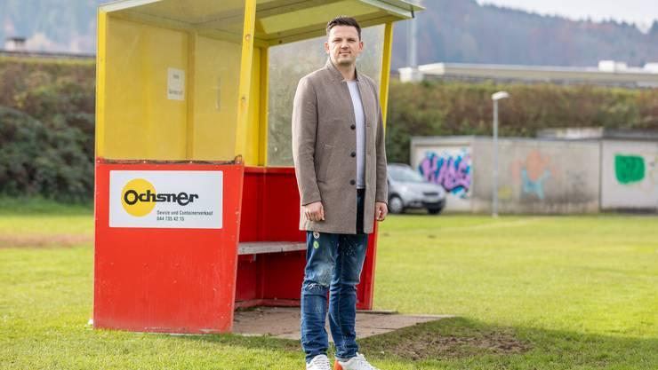Domagoj Karadza, neuer Trainer des FC Klingnau.