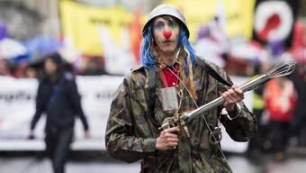 Für die Zürcher Aktivisten geht es früh los. Bereits um 10 Uhr findet die Besammlung statt, 10.30 Uhr wird sich der Zug in Bewegung setzen. (Archiv)