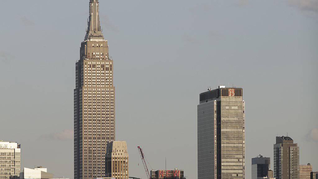 Der traditionelle Treppenlauf im Empire State Building in New York entschied dieses Jahr ein Kolumbianer für sich. (Archivbild)