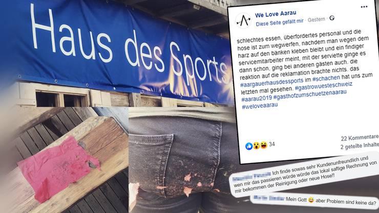 Die Kritik von «We Love Aarau» an der Aarauer Festbeiz kam längst nicht bei allen gut an.