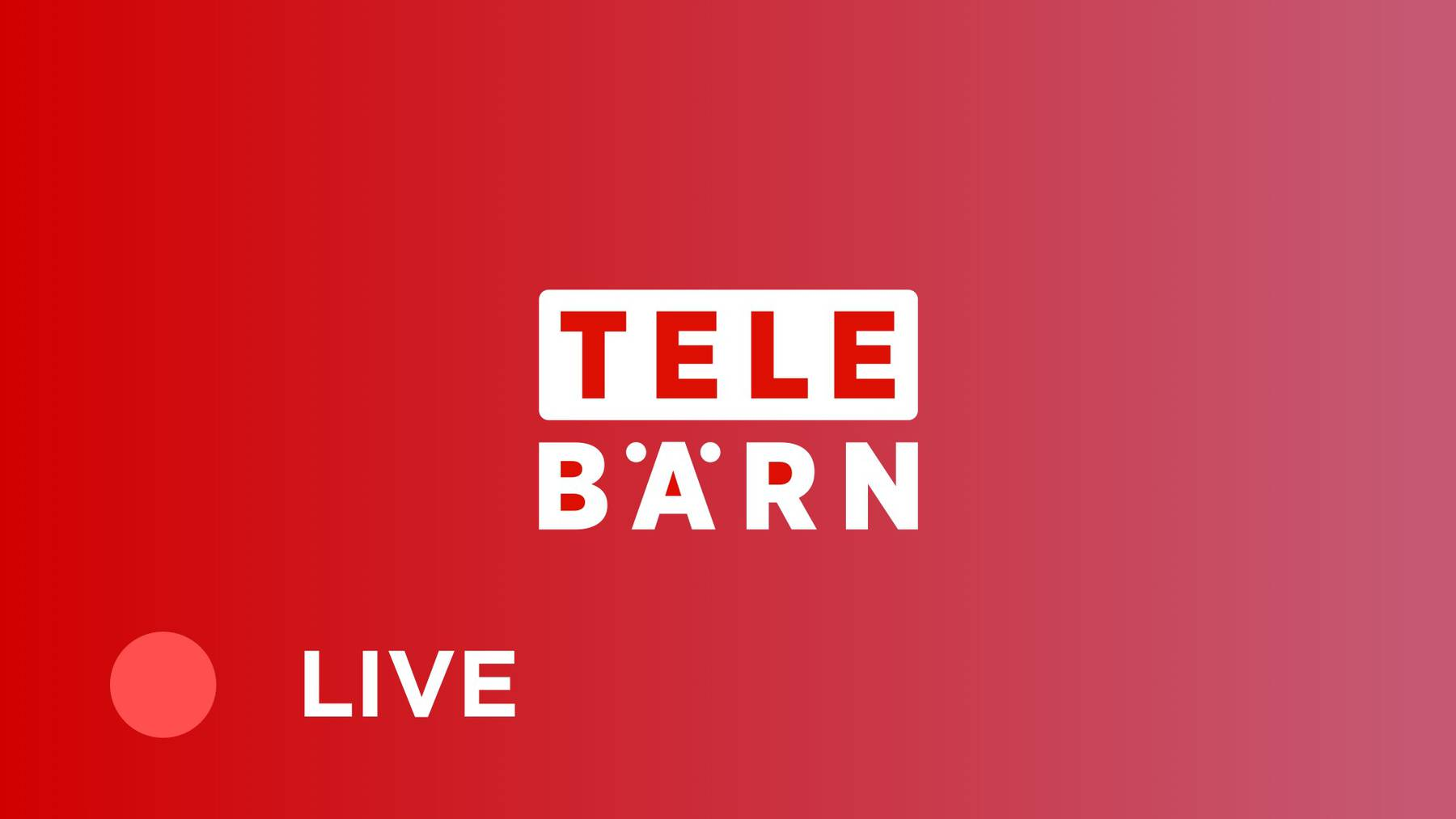 TeleBärn-Livestream