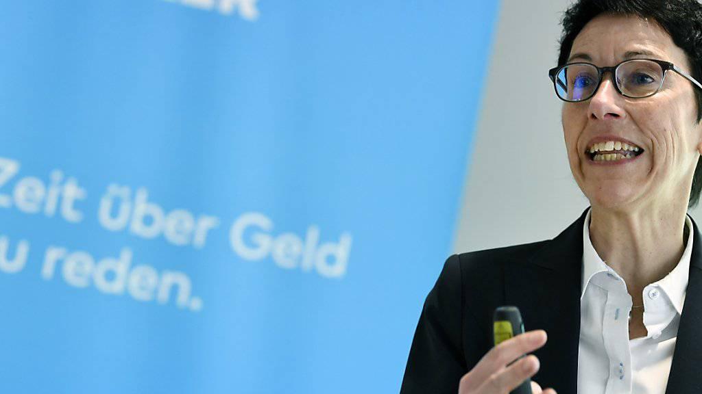 Sandra Lienhart räumt den Chefsessel bei der Bank Cler.  Die Basler Kantonalbank setzt nach der vollständigen Übernahme von Cler auf ein neues Management. (Archiv)