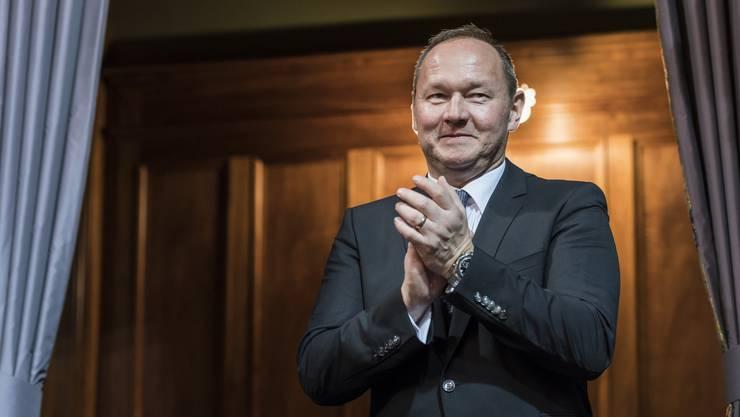 Der neue Swiss-Olympic-Präsident: Jürg Stahl.