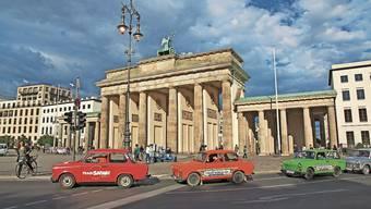 Eine Fahrt in die Vergangenheit – mit dem Trabi durch Berlin kurven. Bild: Shutterstock