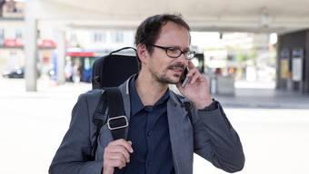 Fürchtet sich nicht vor Strahlung, will trotzdem keine laschere Gesetzgebung: Balthasar Glättli. KEYSTONE/Gaetan Bally