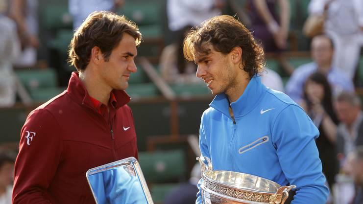 2011 trafen Roger Federer und Rafael Nadal im Final letztmals in Paris aufeinander.