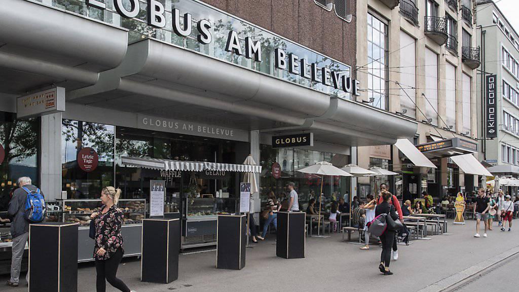 Die zum Verkauf stehende Warenhausgruppe Globus holt den Jelmoli-Chef in die Geschäftgsleitung. (Archivbild)