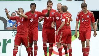 Shaqiri verhilft mit klugen Pässen dem FC Bayern zum Sieg im ersten Spiel der neuen Saison.