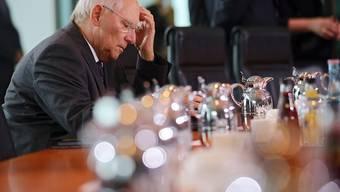 Der deutsche Finanzminister Wolfgang Schäuble gehört bei der Griechenland-Frage zu den Pessimisten (Archiv).