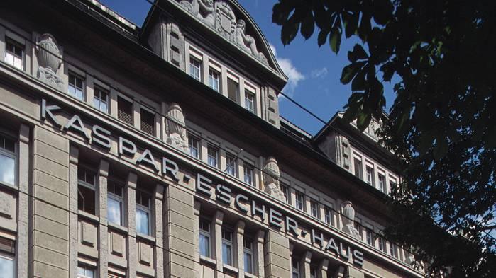 Im Kaspar-Escher-Haus in Zürich sind die Kantonale Verwaltung, die Staatskanzlei