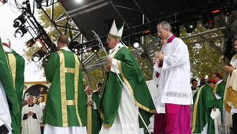 Letzte Messe beim vielbeachteten Papst-Besuch in den USA: Franziskus in Philadelphia