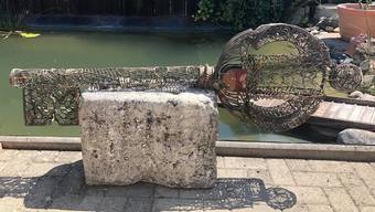 Dekorations-Schlüssel in Aare bei Berken gefunden