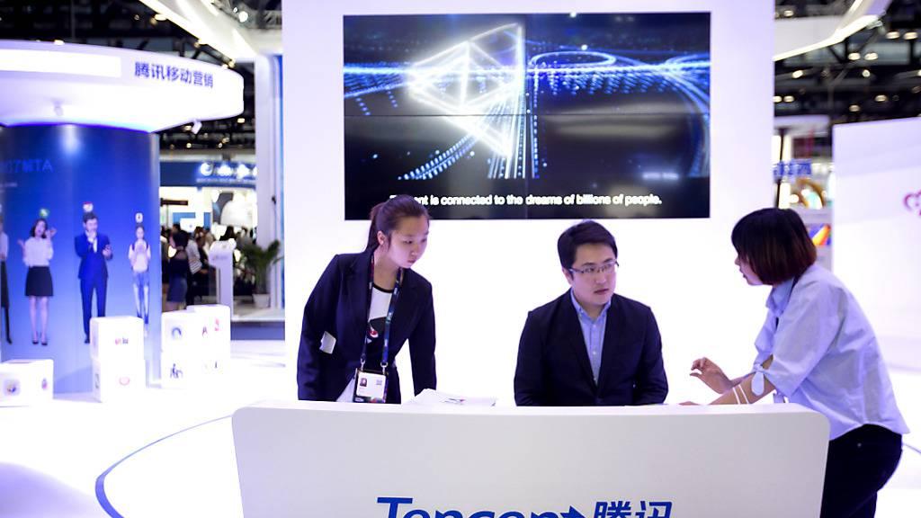 Gaming-Riese Tencent profitiert von der Corona-Krise