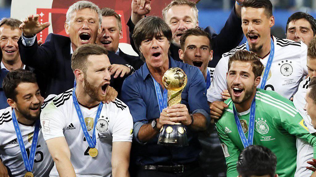 Wir derzeit von allen gefeiert: DFB-Nationaltrainer Joachim Löw