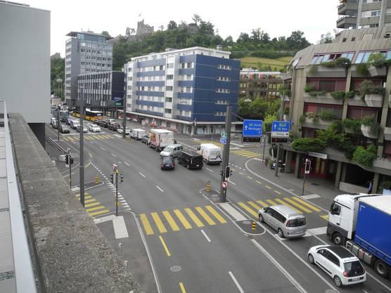 Auf der Bruggestrasse kam es zu unübersichtlichen Verkehrssituationen
