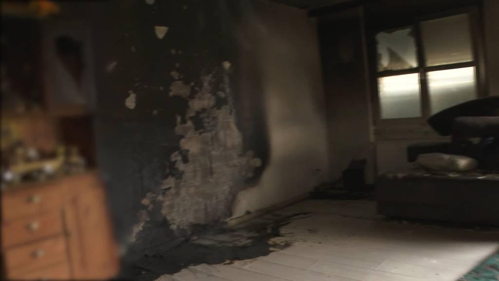 Brand Kirchberg: Schaden weit über 100'000 Franken