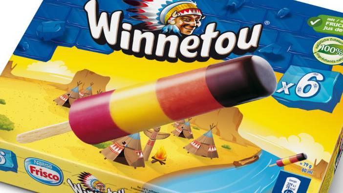Das Kultglacé «Winnetou», an dem Nestlé mitverdient, behält seinen Namen und sein Verpackungsdesign.