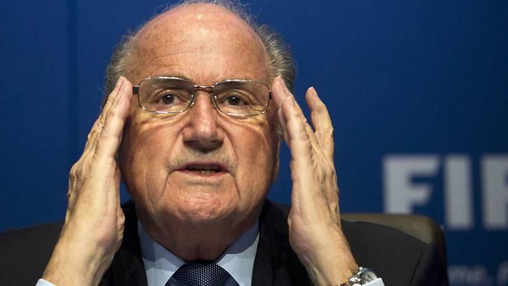 Blatters Sperre wird auf sechs Jahre reduziert.