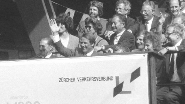 S Bahn feiert 25. Geburtstag