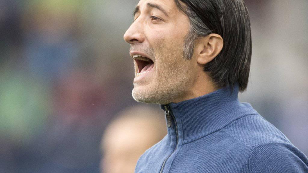 Murat Yakin könnte mit Sion nahe an den FC Basel herankommen