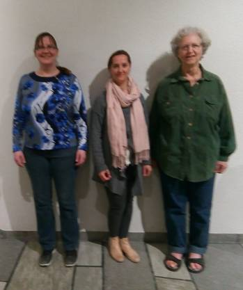von links Sonja von Matt, Figen Özkizilirmark, Rosmarie Acklin