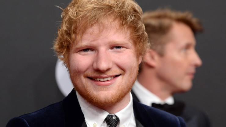 """Was dieser Mann anpackt, kommt gut: Der Brite Ed Sheeran stellt mit seinem aktuellen Album """"Divide"""" bei Spotify neue Rekorde auf."""